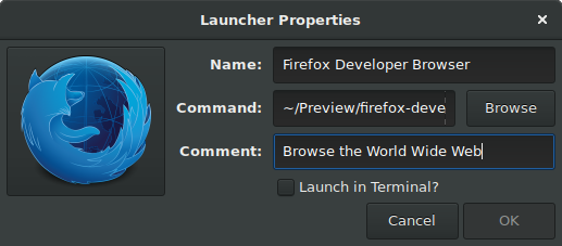Adding desktop entries in GNOME 3 | brege org